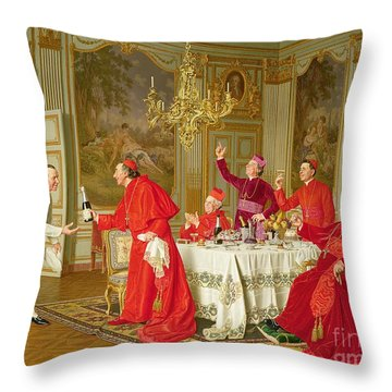 Birthday Throw Pillow by Andrea Landini