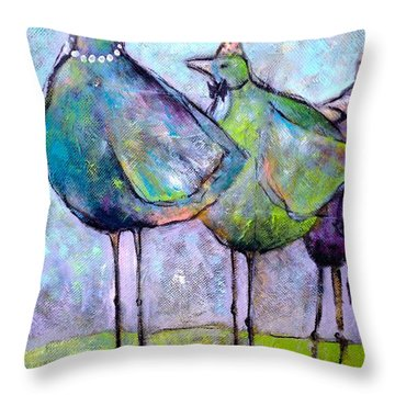 Birthday Buddies Throw Pillow