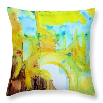Birthing Throw Pillow