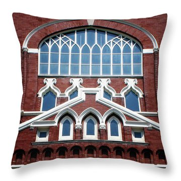 Birthplace Of Bluegrass- Photography By Linda Woods Throw Pillow