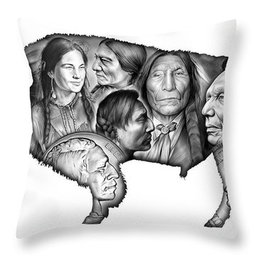 Coin Throw Pillows