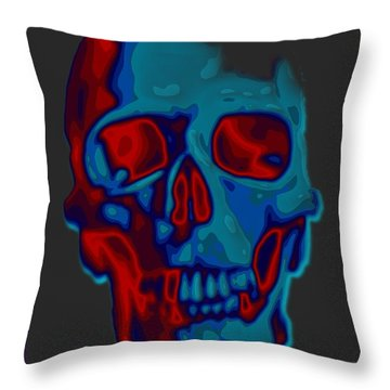 Bite Me Throw Pillow by Mimulux patricia no No
