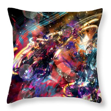 Bitter Sweet Symphony Throw Pillow