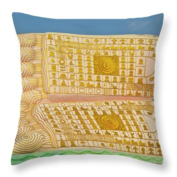 Biurma_d1831 Throw Pillow
