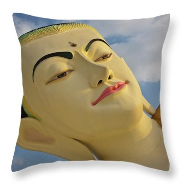 Biurma_d1838 Throw Pillow