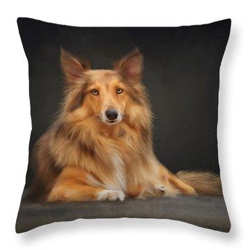 Bizou Throw Pillow