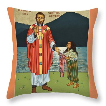 Bl. Stanley Rother - Lwsro Throw Pillow