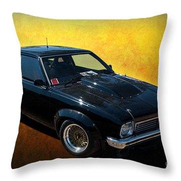 Black A9x Throw Pillow