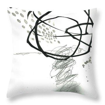 Black And White # 10 Throw Pillow