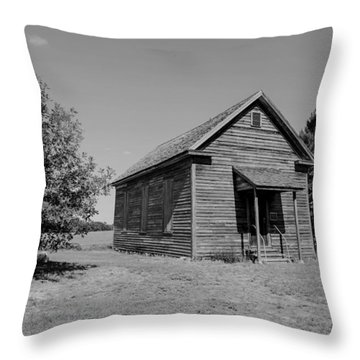 Black And White 108 Throw Pillow