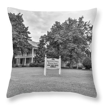 Black And White 58 Throw Pillow