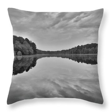Black And White 71 Throw Pillow