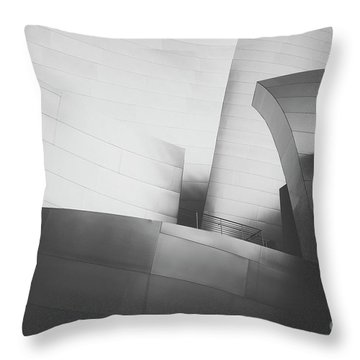 Throw Pillow featuring the photograph Black And White Arcitechture by MGL Meiklejohn Graphics Licensing