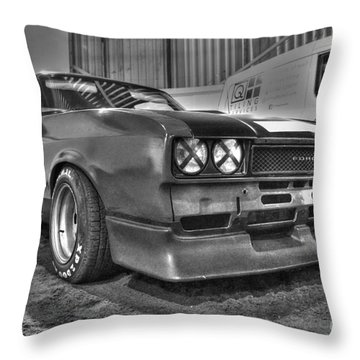 Black And White Capri In Hdr Throw Pillow by Vicki Spindler