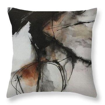 Black And White Study Throw Pillow