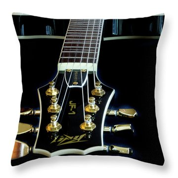 Throw Pillow featuring the photograph Black Beauty by Bill Gallagher
