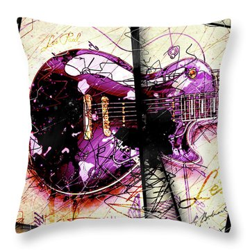 Black Beauty C 2  Throw Pillow by Gary Bodnar