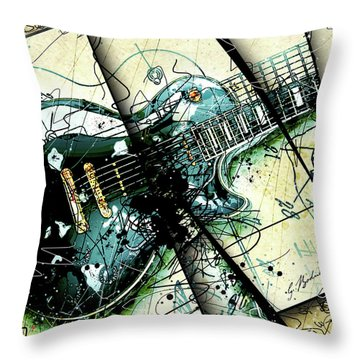 Black Beauty C 1  Throw Pillow