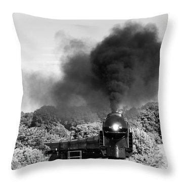 Black Cloud Throw Pillow