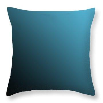 Black Diagonal Ombre Throw Pillow