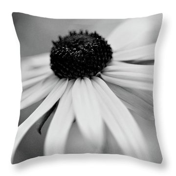 Black Eyed Susan Throw Pillow by Michelle Joseph-Long