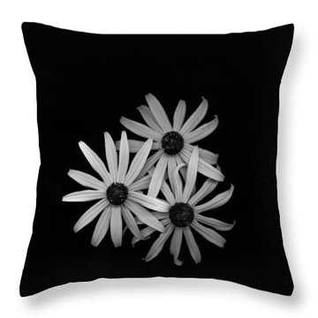 Black Eyed Susan's 1 Throw Pillow