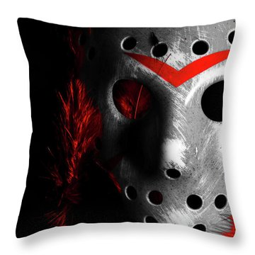 Black Friday The 13th  Throw Pillow