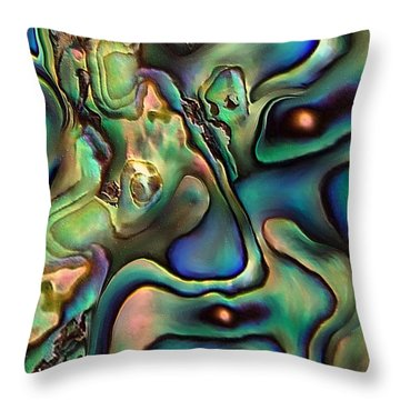 Black Holes By Rafi Talby  Throw Pillow by Rafi Talby