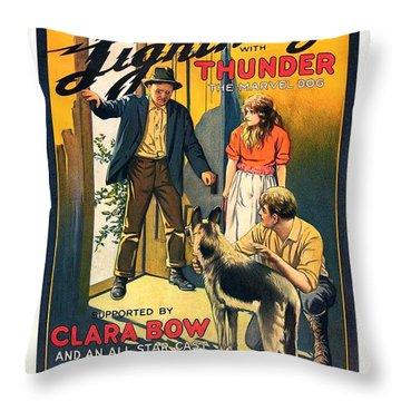 Black Lightning 1924 Throw Pillow