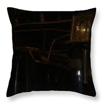 Black Mariah Waits Throw Pillow