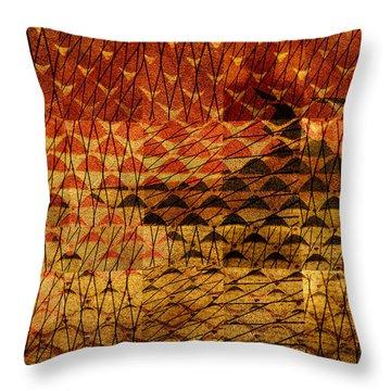 Black Mountain Throw Pillow by Don Gradner