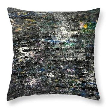 Black Onyx Throw Pillow