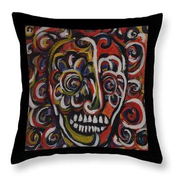 Black Orpheus Throw Pillow