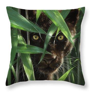 Black Panther - Wild Eyes Throw Pillow