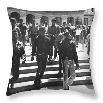 Black Panthers, 1967 Throw Pillow by Granger