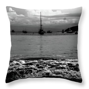Black Sails Throw Pillow