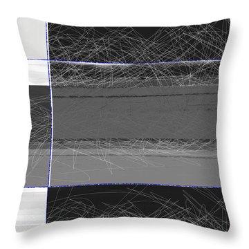 Black Square Throw Pillow