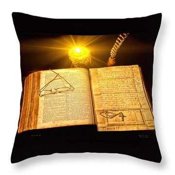 Black Sunday Throw Pillow