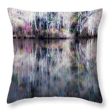 Black Water Fantasy Throw Pillow