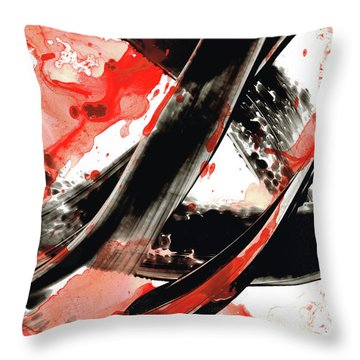 Drippy Throw Pillows