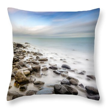 Blackhead From Whitehead Throw Pillow