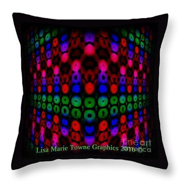 Blacklight 11 Throw Pillow