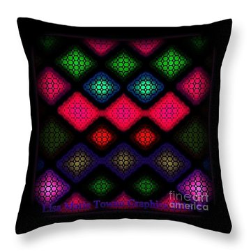 Blacklight 2 Throw Pillow