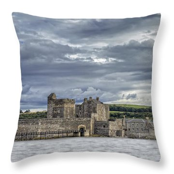 Blackness Castle Throw Pillow by Jeremy Lavender Photography