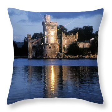 Blackrock Castle, River Lee, Near Cork Throw Pillow by The Irish Image Collection