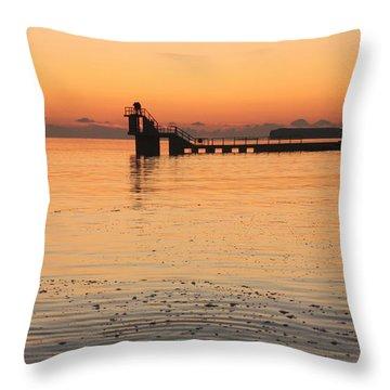 Blackrock Sunset Throw Pillow