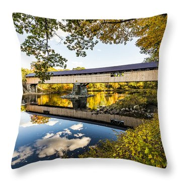 Throw Pillow featuring the photograph Blair Bridge by Anthony Baatz