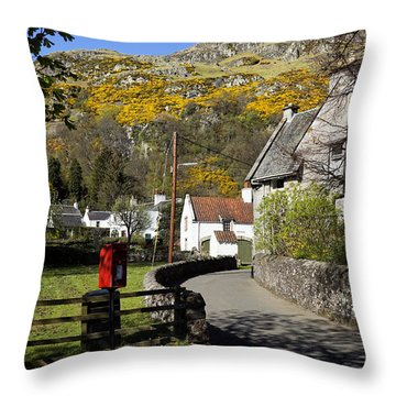 Throw Pillow featuring the photograph Blairlogie by Jeremy Lavender Photography