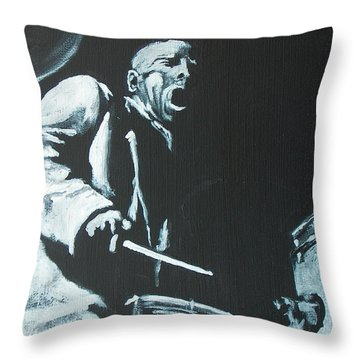 Blakey Throw Pillow by Pete Maier