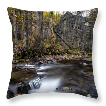 Blanchard Mill Throw Pillow